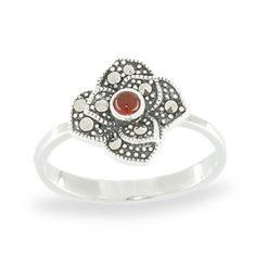 Marcasite jewelry ring HR1050 1