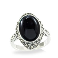 Marcasite jewelry ring HR1060 1