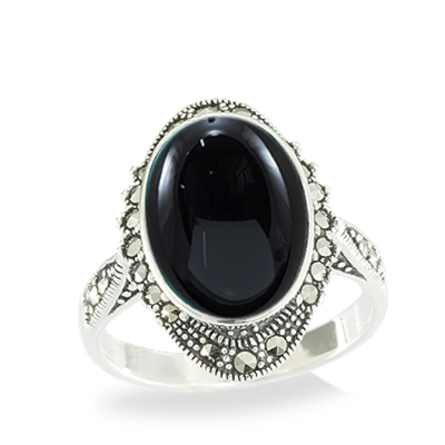 Marcasite jewelry ring HR1060 1