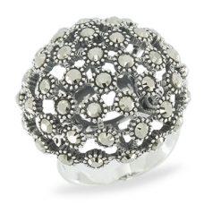 Marcasite jewelry ring HR1063 1