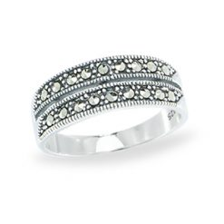 Marcasite jewelry ring HR1068 1