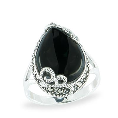 Marcasite jewelry ring HR1072 1