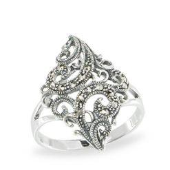 Marcasite jewelry ring HR1074 1