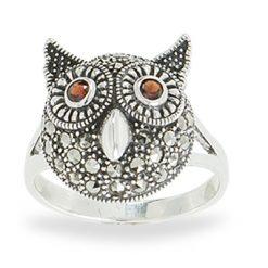 Marcasite jewelry ring HR1078 1