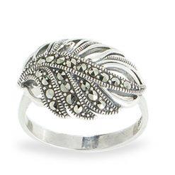 Marcasite jewelry ring HR1080 1