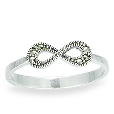 Marcasite jewelry ring HR1088 1
