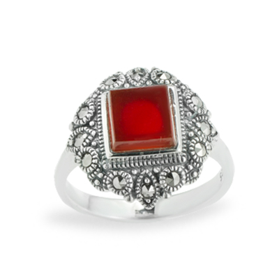 Marcasite jewelry ring HR1091 1