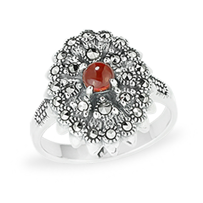 Marcasite jewelry ring HR1093 1