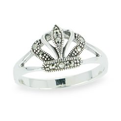 Marcasite jewelry ring HR1099 1