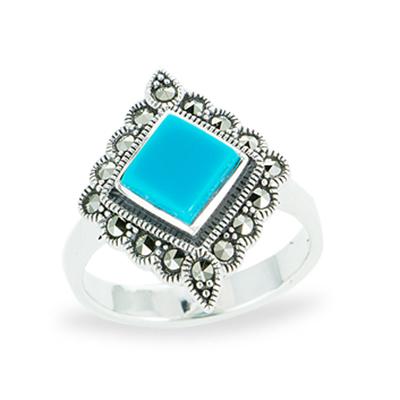 Marcasite jewelry ring HR1101 1