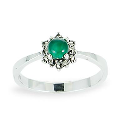 Marcasite jewelry ring HR1103 1
