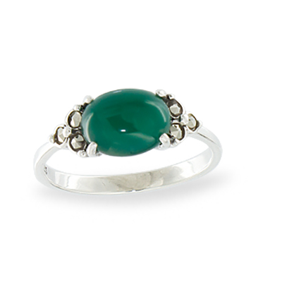 Marcasite jewelry ring HR1105 1