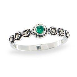 Marcasite jewelry ring HR1106 1