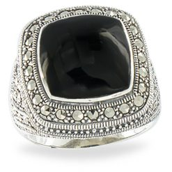 Marcasite jewelry ring HR1112 1