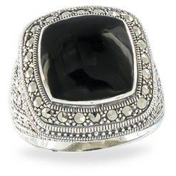 Marcasite jewelry ring HR1112 1