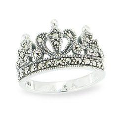 Marcasite jewelry ring HR1115 1