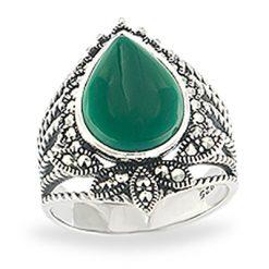 Marcasite jewelry ring HR1119 1