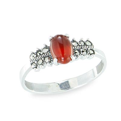 Marcasite jewelry ring HR1127 1
