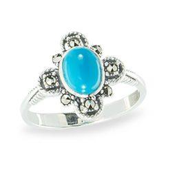 Marcasite jewelry ring HR1131 1