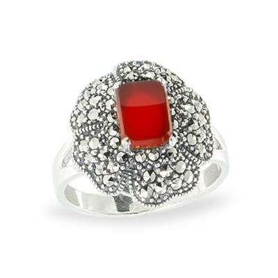 Marcasite jewelry ring HR1133 1