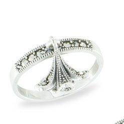 Marcasite jewelry ring HR1135 1