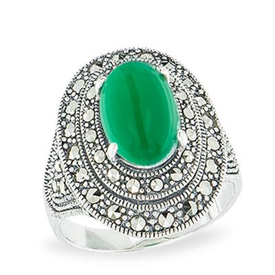 Marcasite jewelry ring HR1144 1