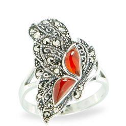 Marcasite jewelry ring HR1149 1