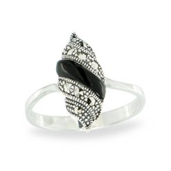 Marcasite jewelry ring HR1152 1