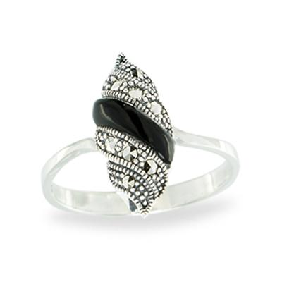 Marcasite jewelry ring HR1152 1