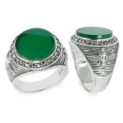 Marcasite jewelry ring HR1166 1
