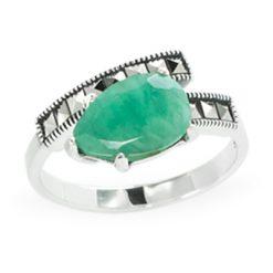 Marcasite jewelry ring HR1168 1