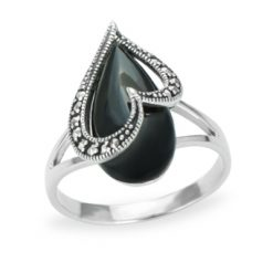 Marcasite jewelry ring HR1174 1