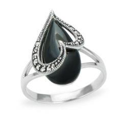 Marcasite jewelry ring HR1174 1