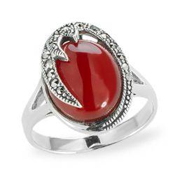 Marcasite jewelry ring HR1178 1