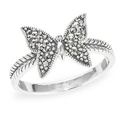 Marcasite jewelry ring HR1187 1
