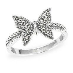 Marcasite jewelry ring HR1187 1