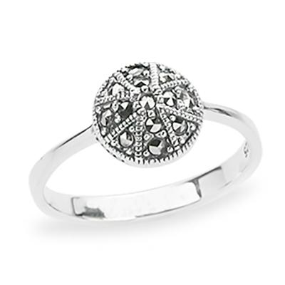 Marcasite jewelry ring HR1191 1