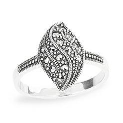 Marcasite jewelry ring HR1197 1