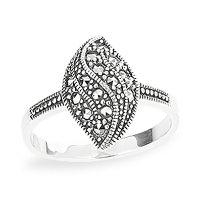 Marcasite jewelry ring HR1197 1