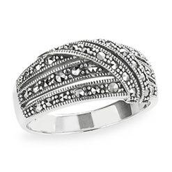 Marcasite jewelry ring HR1198 1