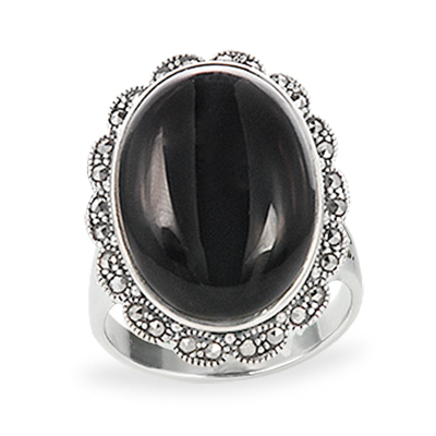 Marcasite jewelry ring HR1199 1