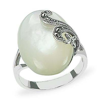Marcasite jewelry ring HR1201 1