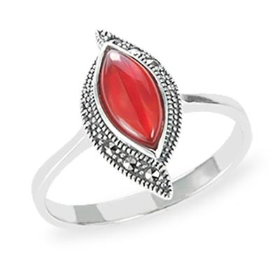 Marcasite jewelry ring HR1204 1