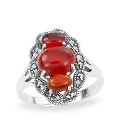 Marcasite jewelry ring HR1212 1