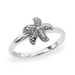 Marcasite jewelry ring HR1213 1