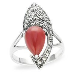 Marcasite jewelry ring HR1219 1