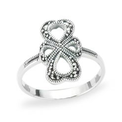Marcasite jewelry ring HR1220 1