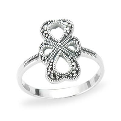 Marcasite jewelry ring HR1220 1