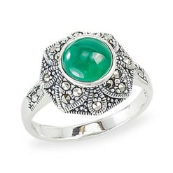 Marcasite jewelry ring HR1221 1