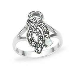 Marcasite jewelry ring HR1222 1